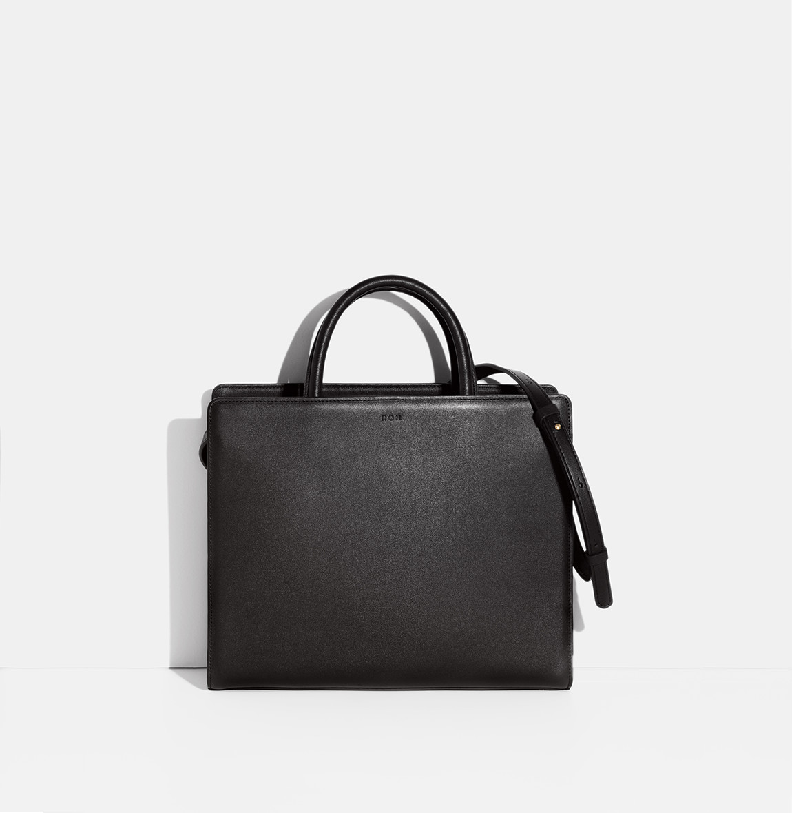ROH Square tote bag Black