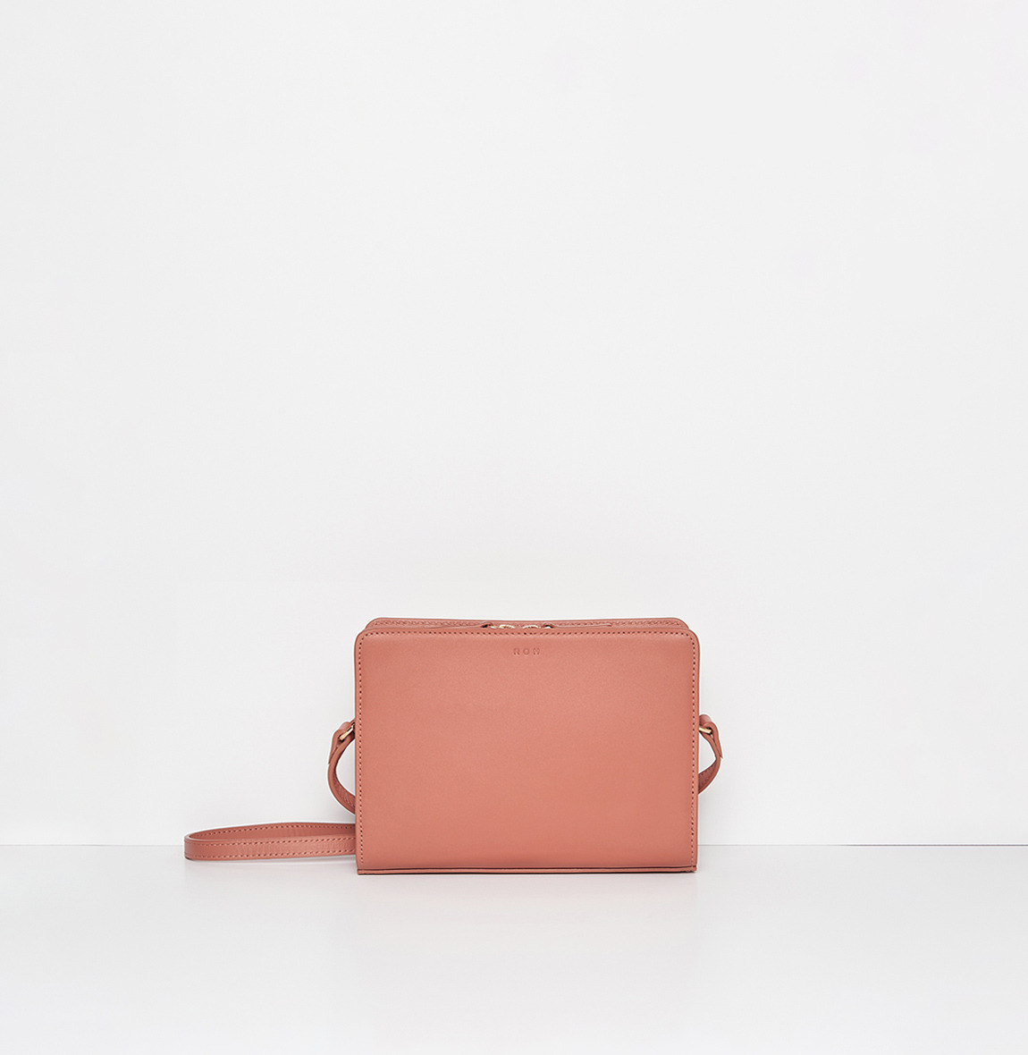 ROH Mini square bag Amber coral