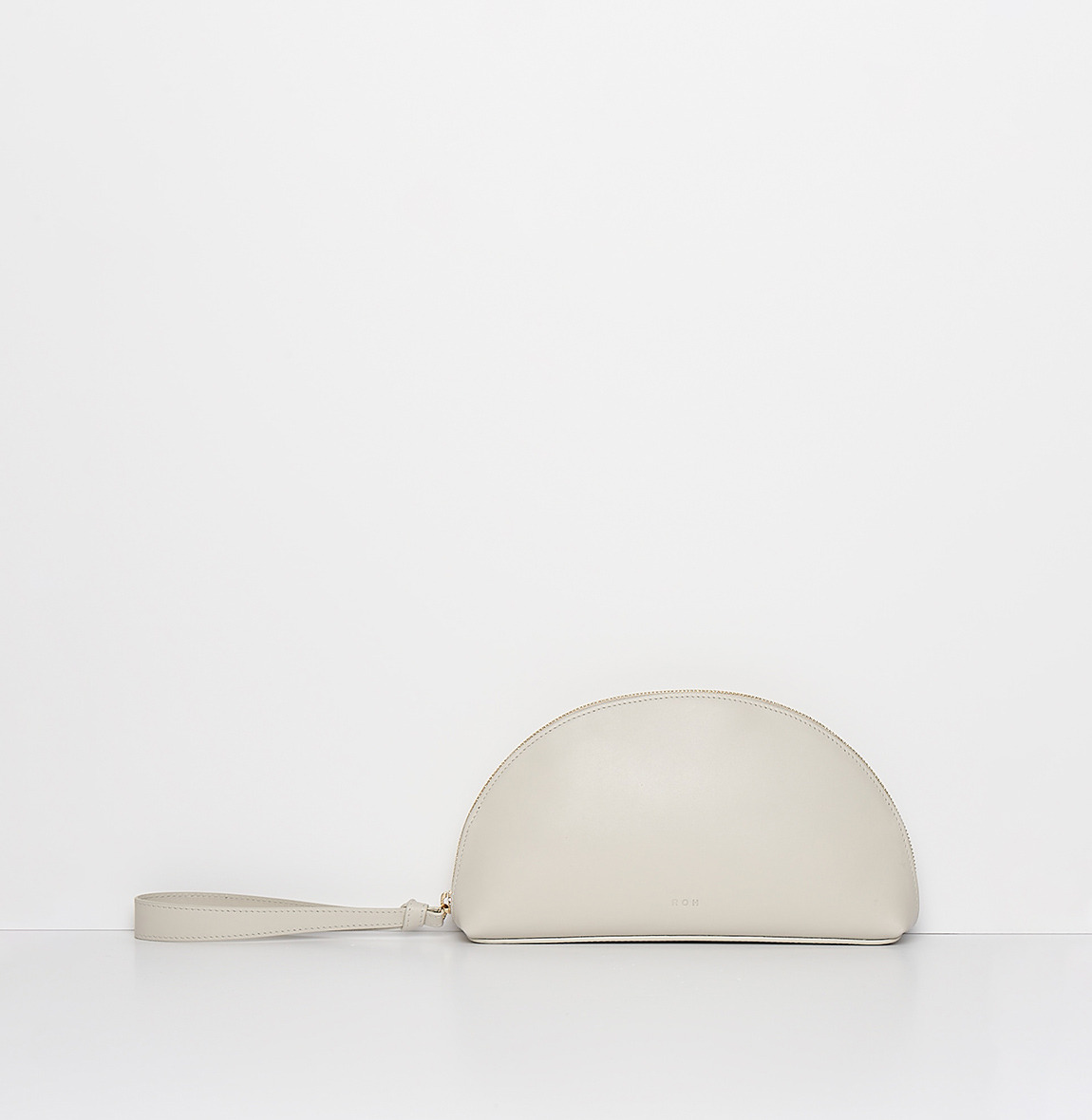 ROH Half moon clutch Ivory