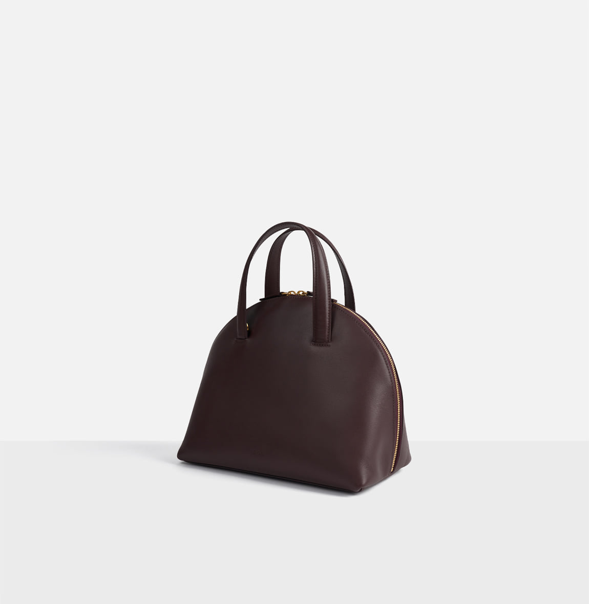 ROH Cloche tote bag Burgundy
