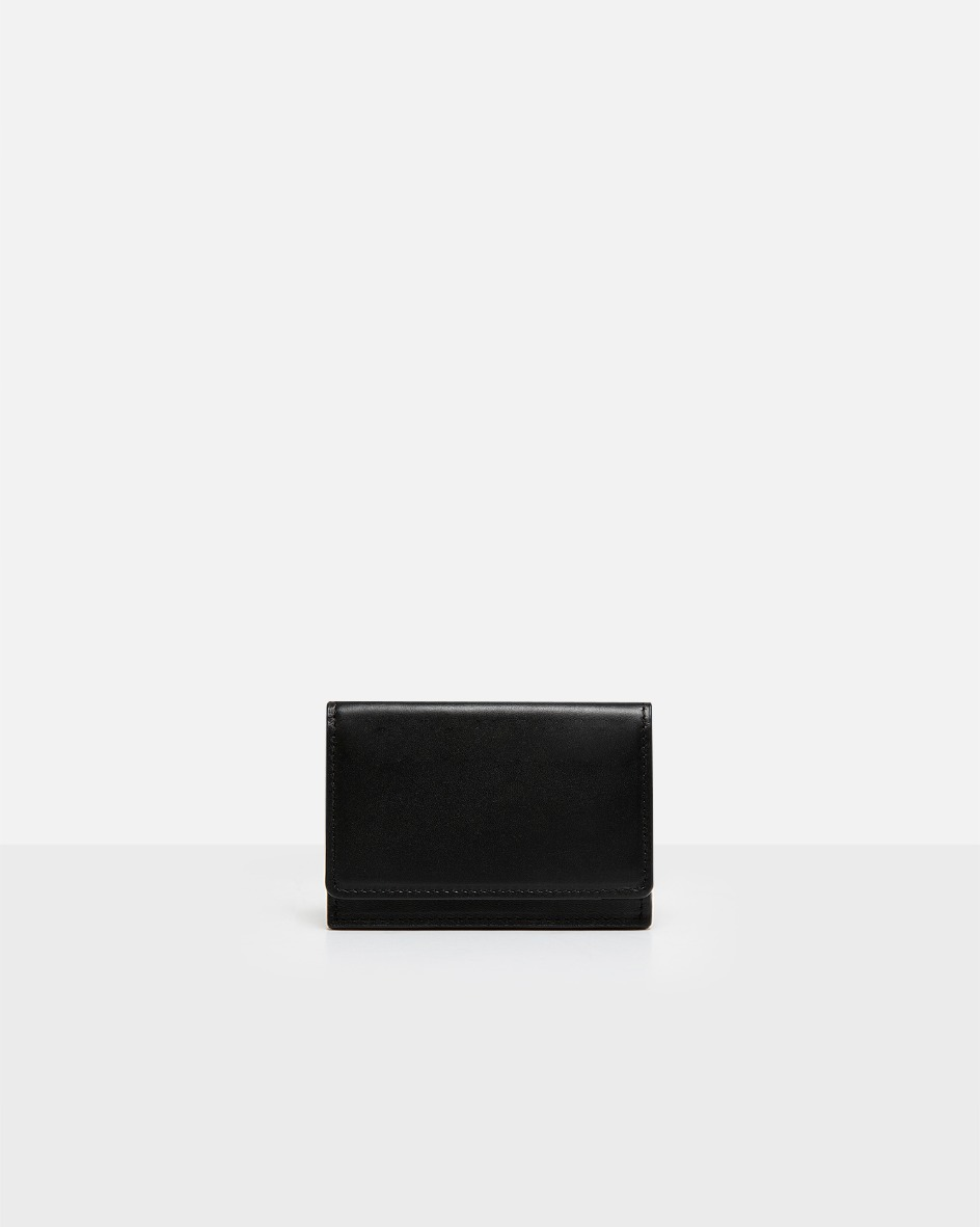 ROH Flap card wallet objet Black