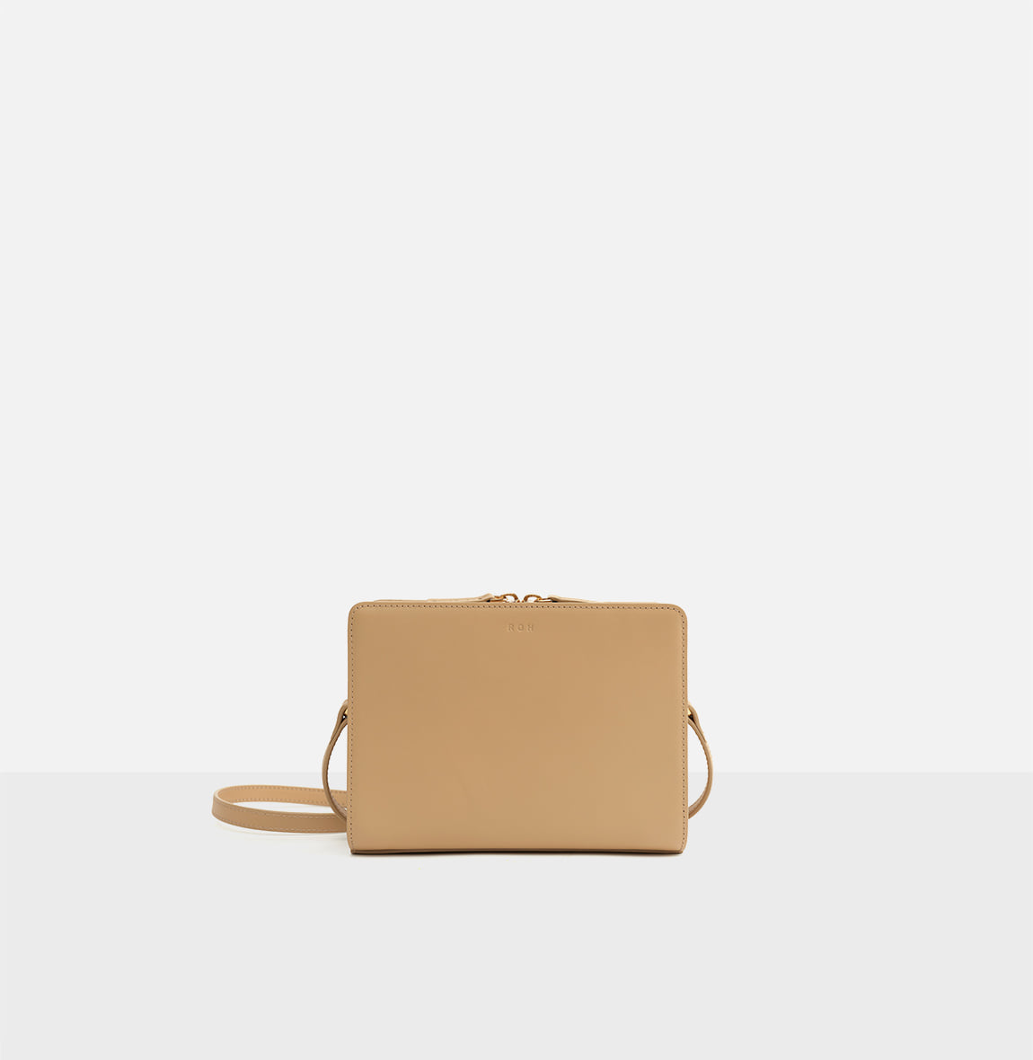 ROH Mini square bag Light ocher