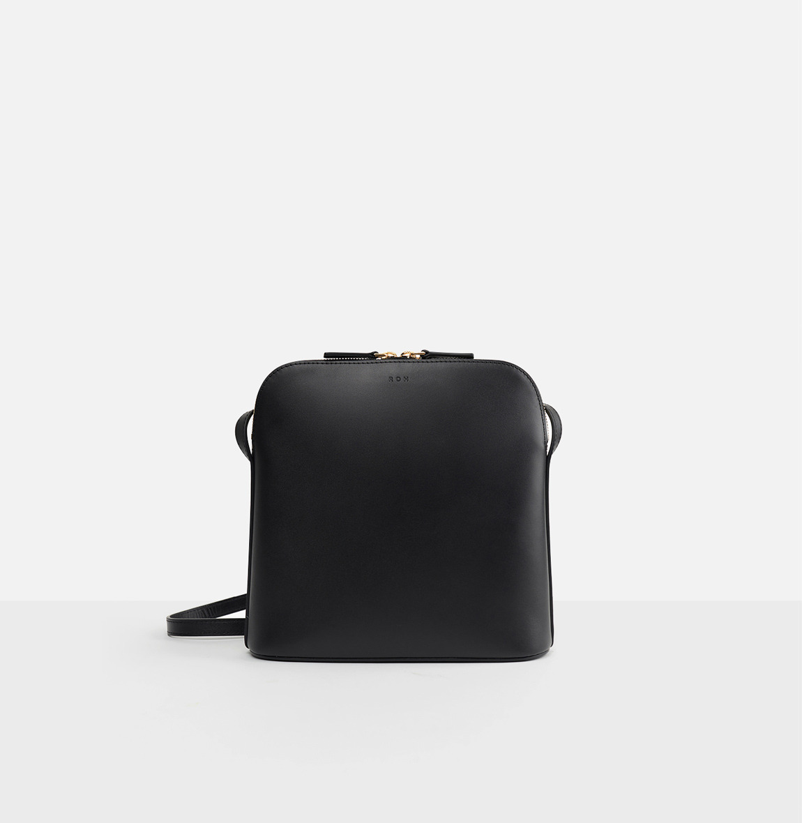 Around L medium shoulder bag Black