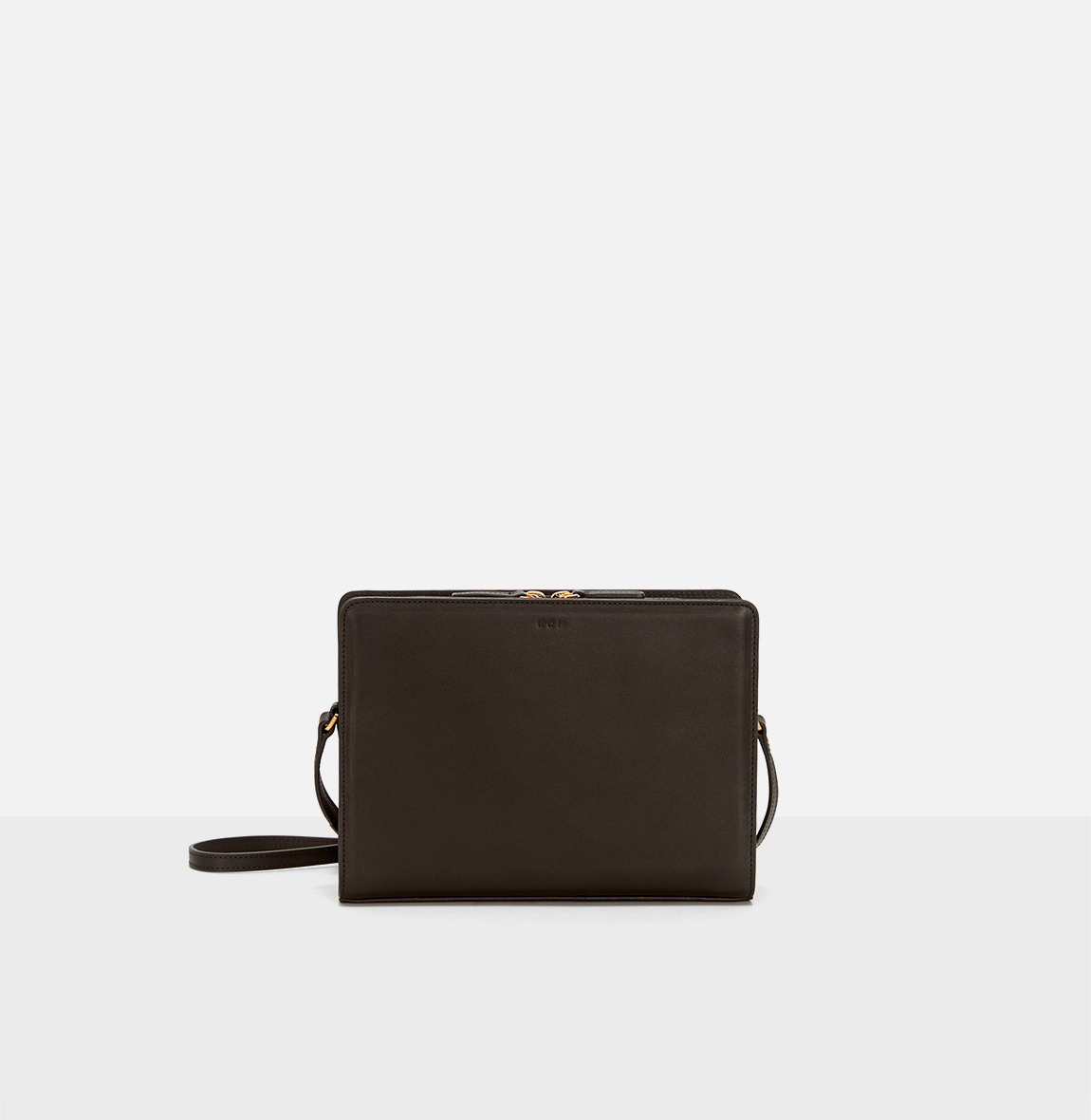 [20SS NEW]Square medium shoulder bag Umber