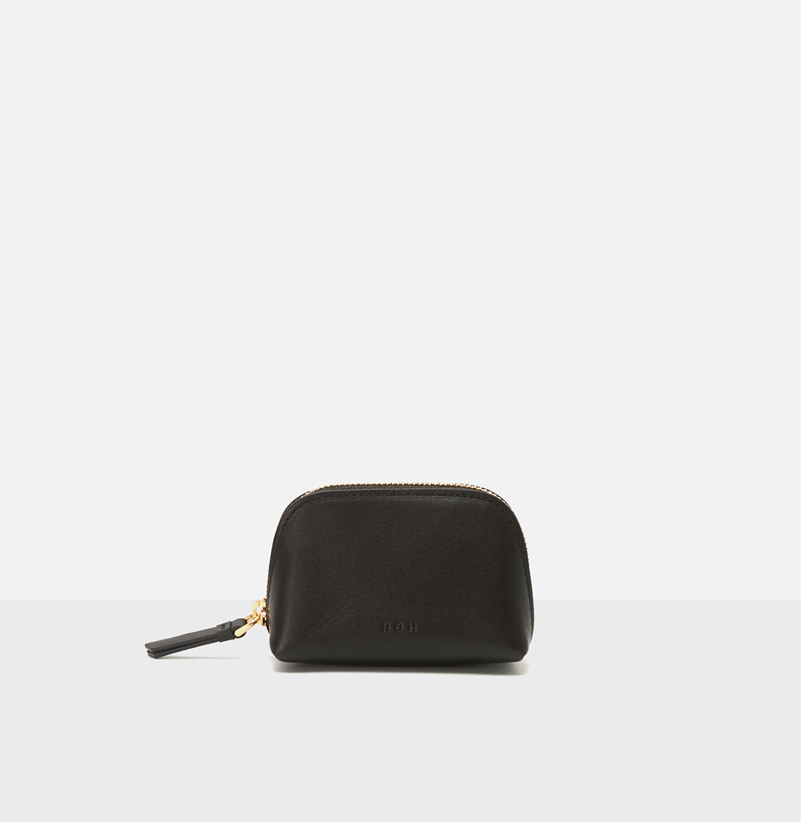 Aline small coin zip wallet Umber