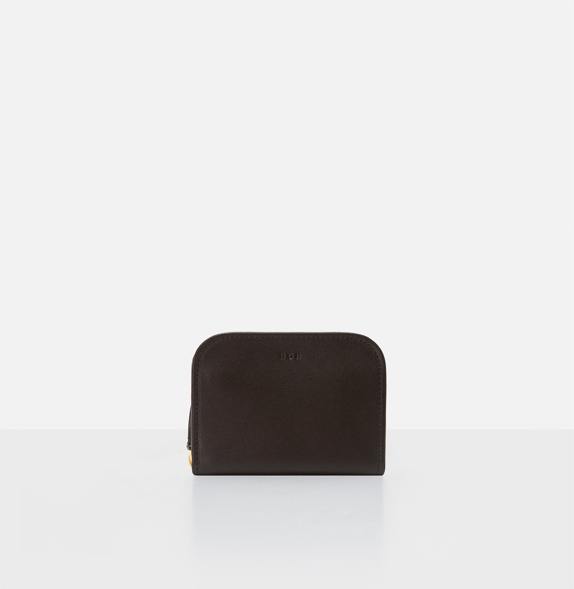 Around small zip wallet Umber