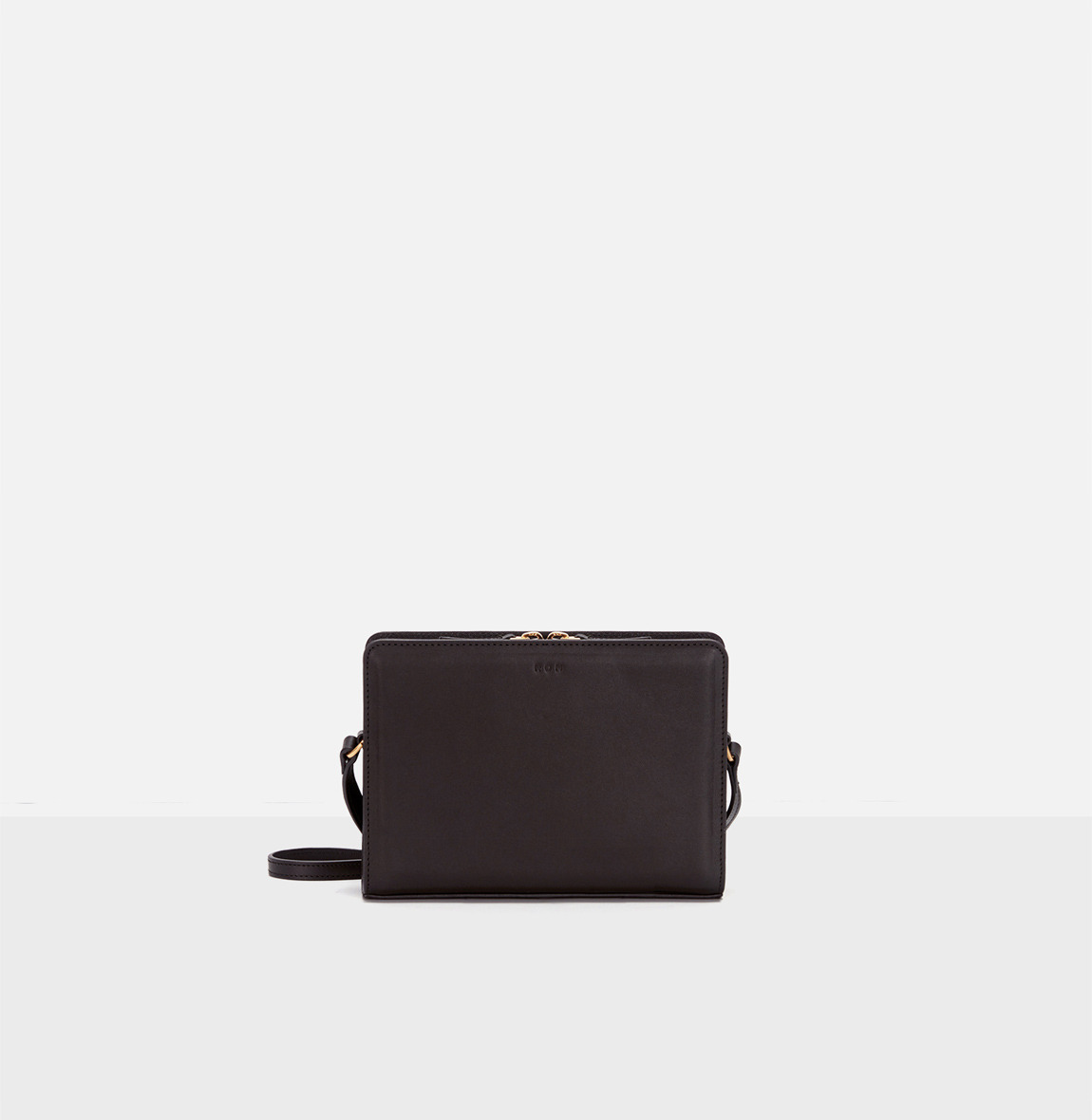 Square small shoulder bag Umber