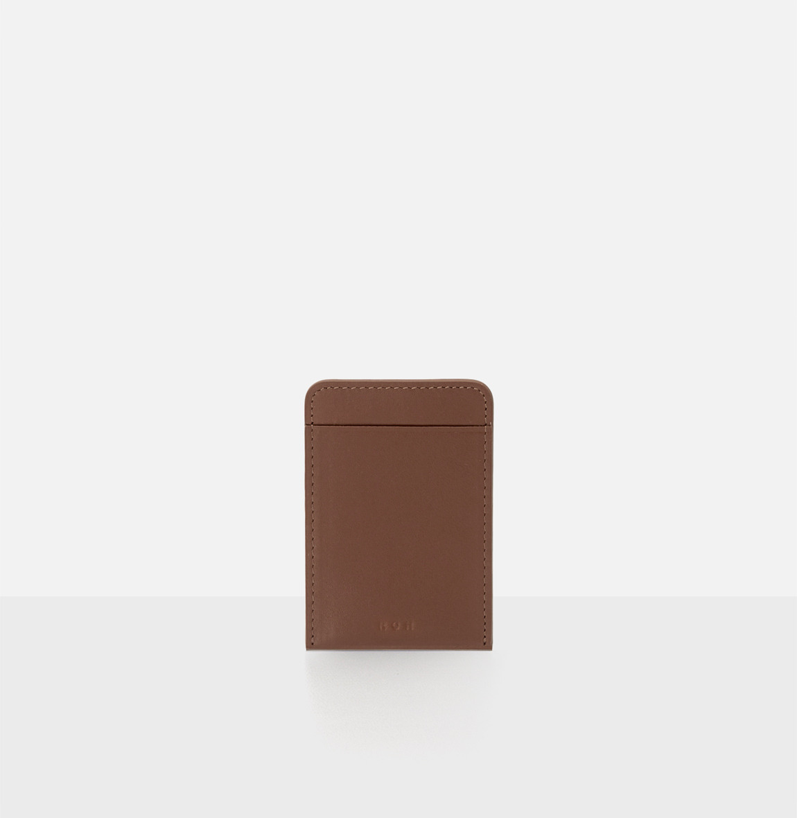 Basic card  Holder Smoky Tan