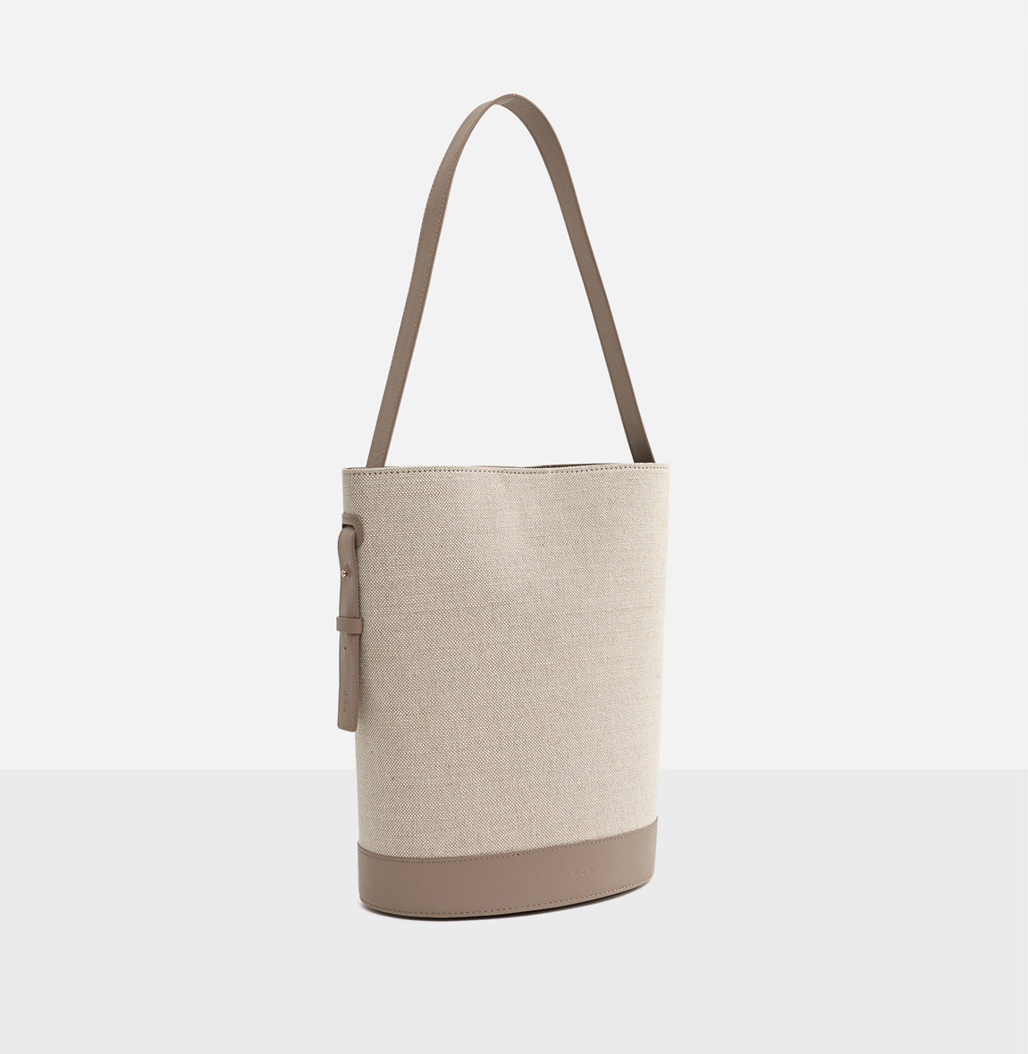[20SS NEW]Juty fabric medium shoulder bag Beige