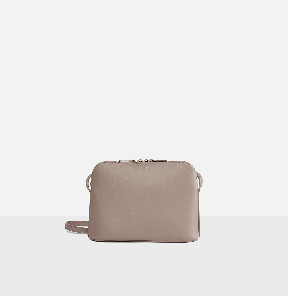 [20SS NEW]Around W medium shoulder bag Beige