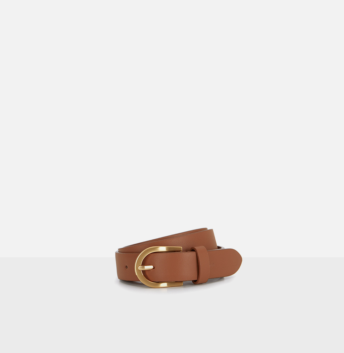 [20SS NEW]Around Belt Creamy Tan