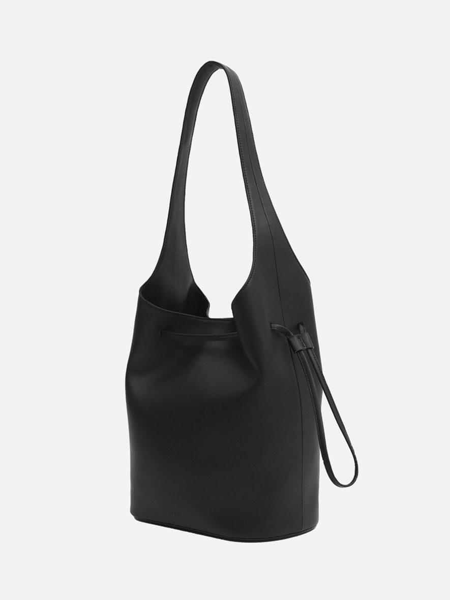 Merlin large Hobo bag Black