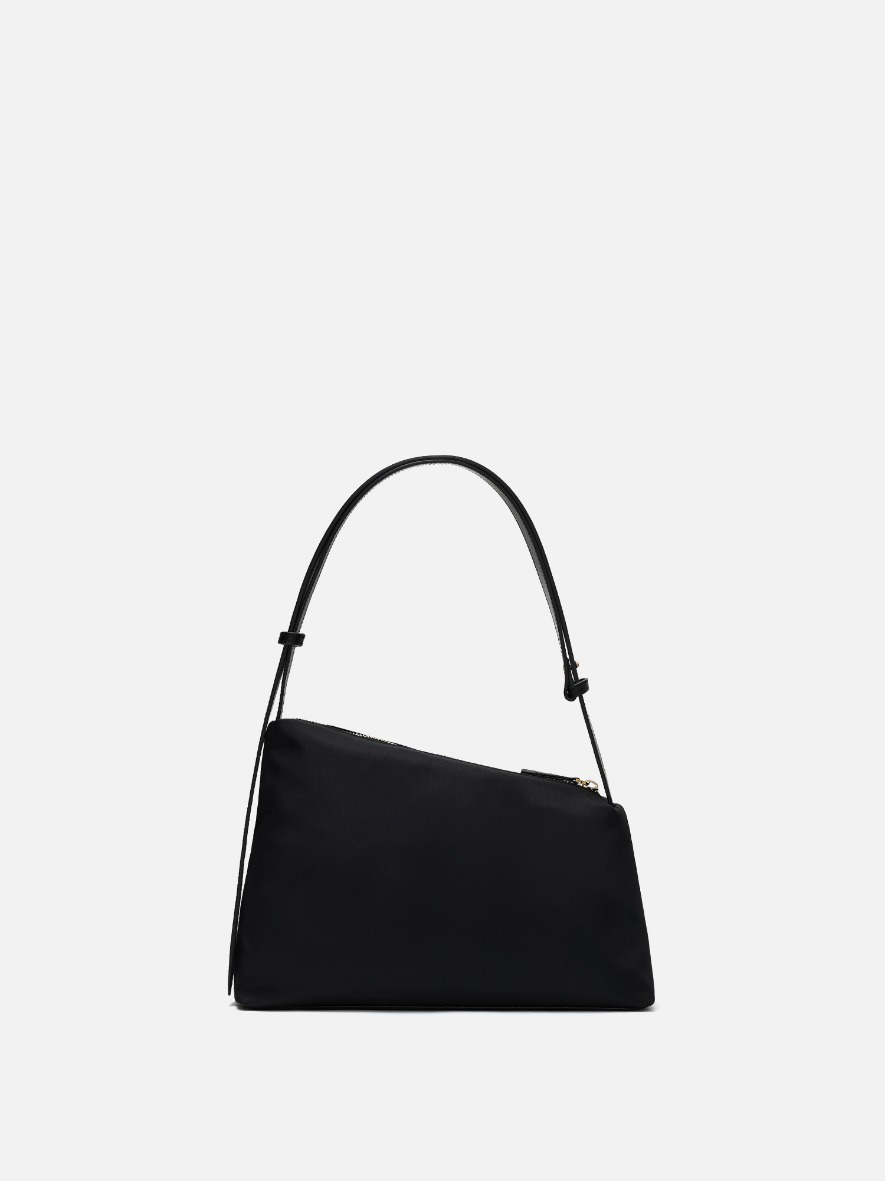 Rowie nylon shoulder bag Black