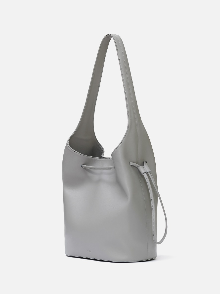 Merlin large Hobo bag Light gray
