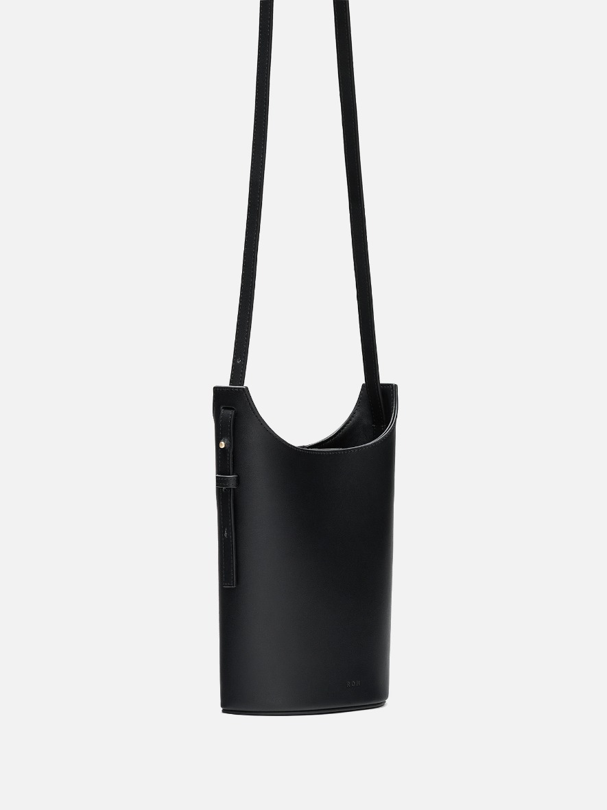 Mini juty crossbody bag Black