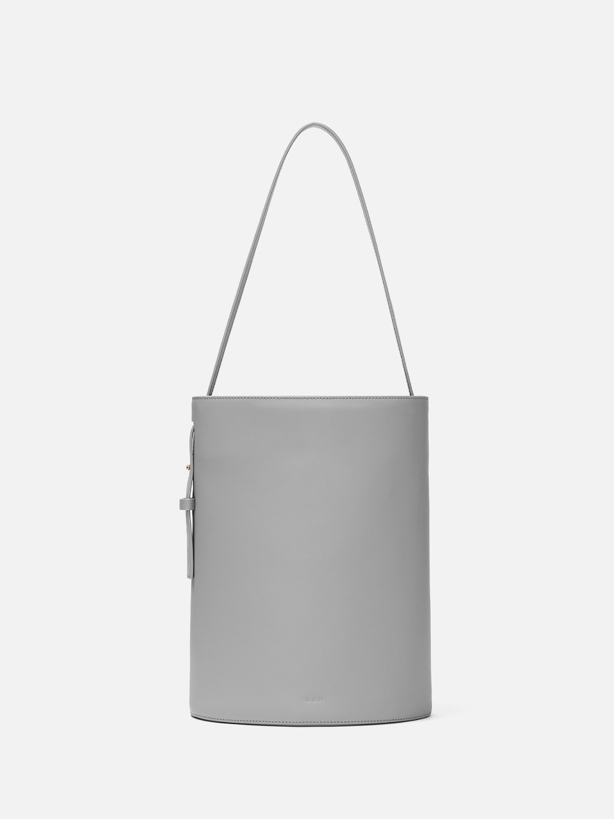 Juty medium shoulder bag Light gray