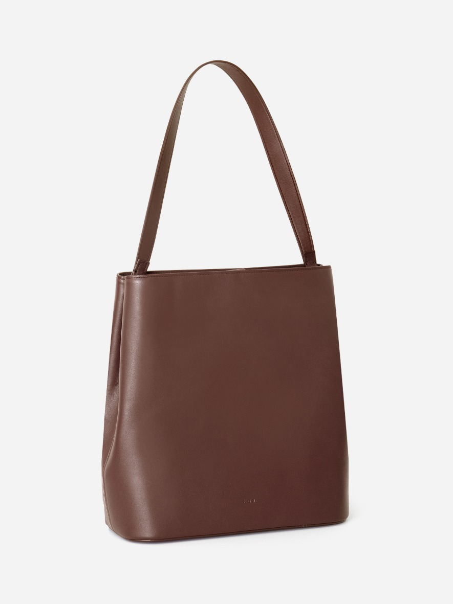 Aline Large Shoulder bag Smoky Tan