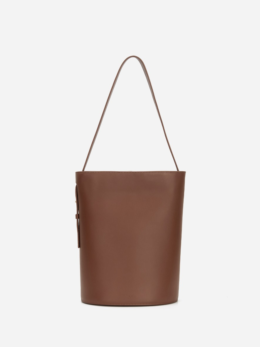Juty medium shoulder bag Smoky Tan