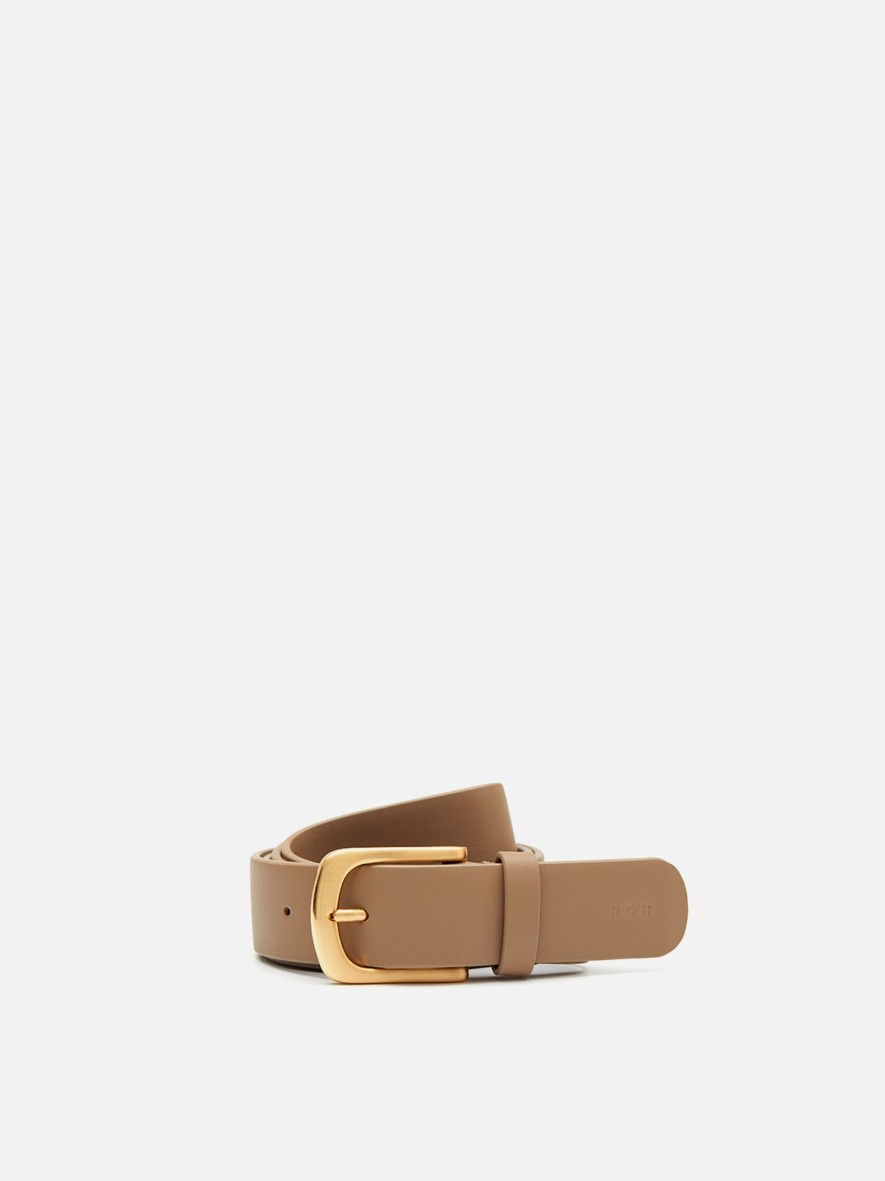 Square Belt Beige