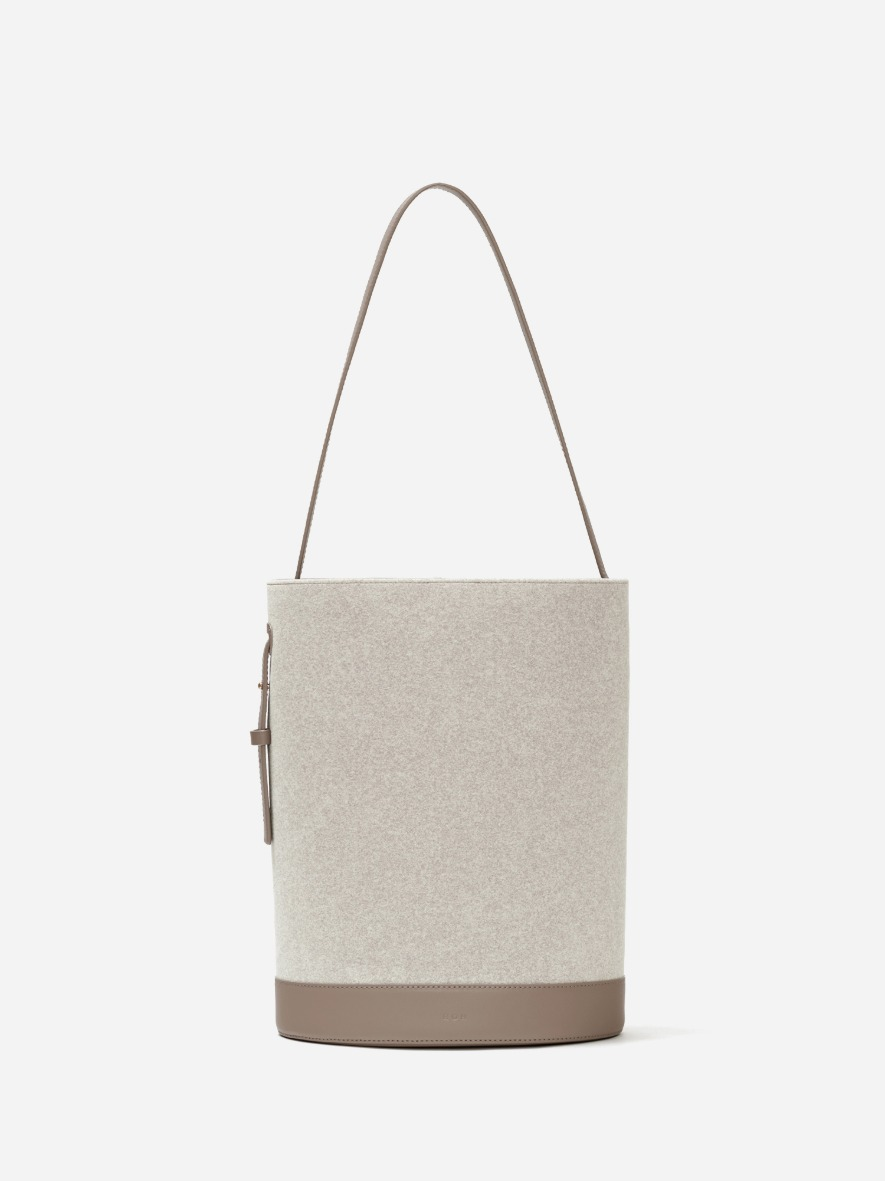Juty medium shoulder bag Ecoclean Oatmeal