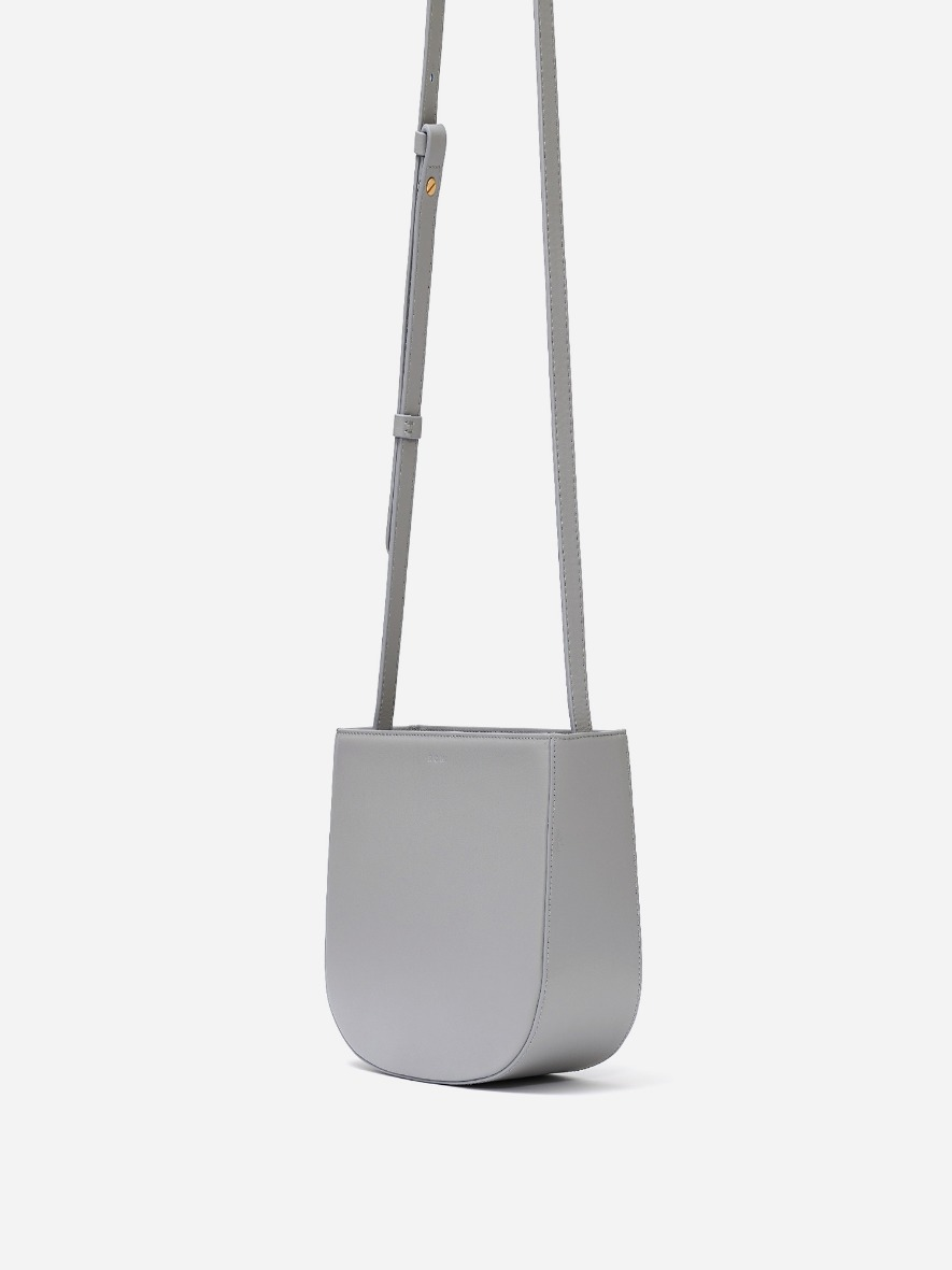Uline medium crossbody bag Light gray
