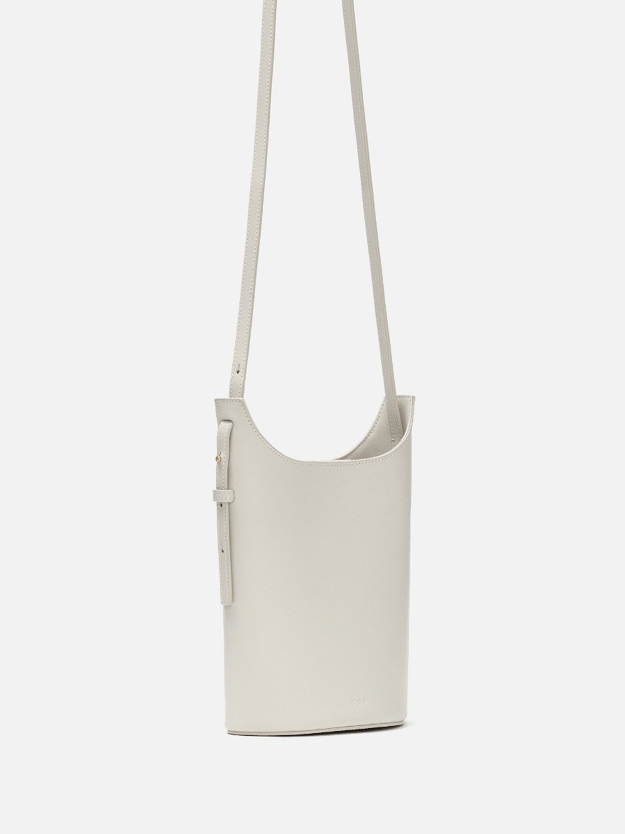 Mini juty crossbody bag Ivory