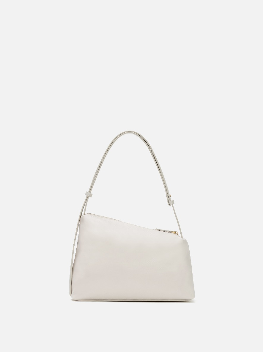 Rowie nylon shoulder bag Ivory