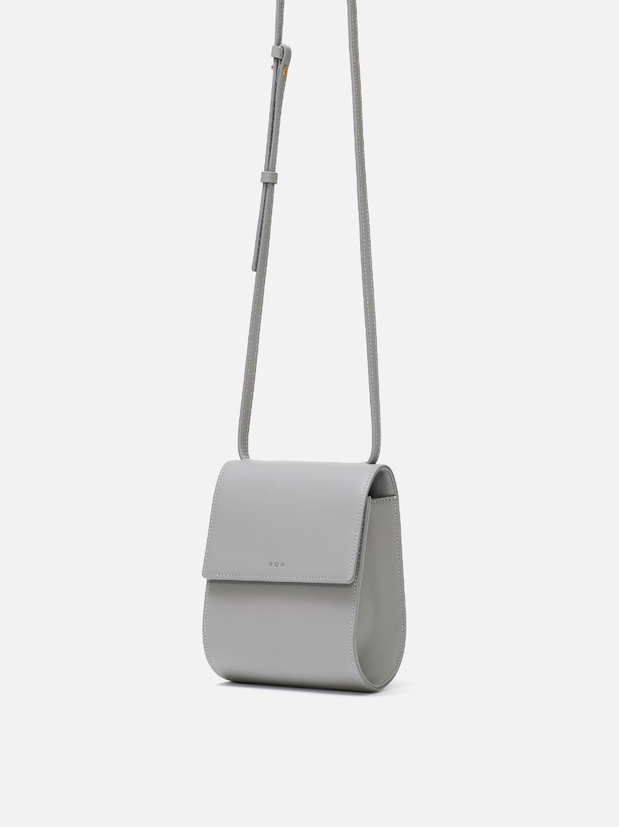 Pochette crossbody bag Light gray